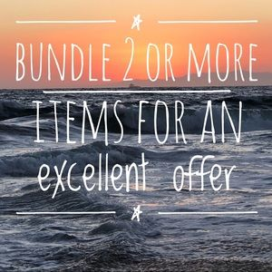 Other - Bundle 2 or more items for an excellent offer!
